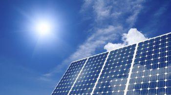Solar panel harness energy of the sun